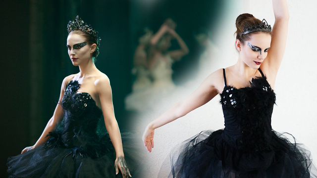 Made by Carlijn: #DIY: How to make a Black Swan Costume *no sewing/zonder naaimachine*