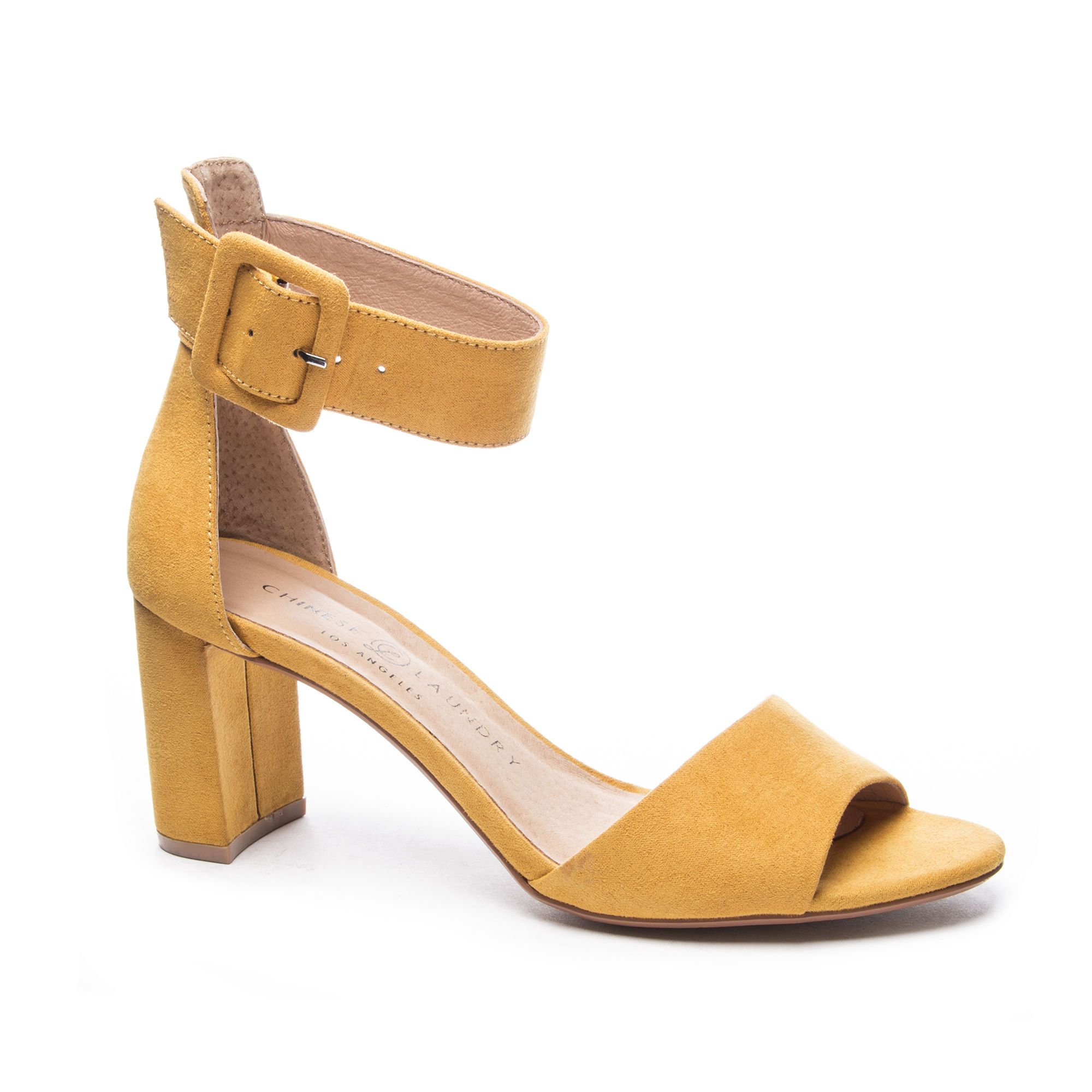 fe15f831ccd Chinese Laundry Rumor Micro Suede Ankle Strap Sandal   Chinese ...
