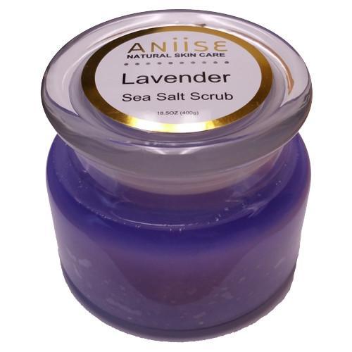Lavender Sea Salt Scrub Diy: Sea Salt Scrubs, Sea Salt Body