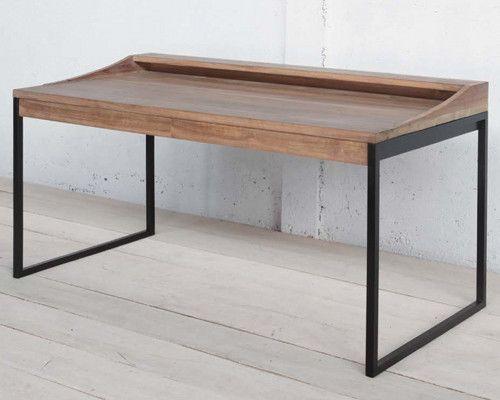 Bureau En Bois Simple : Aellon furniture inside wish list bureau