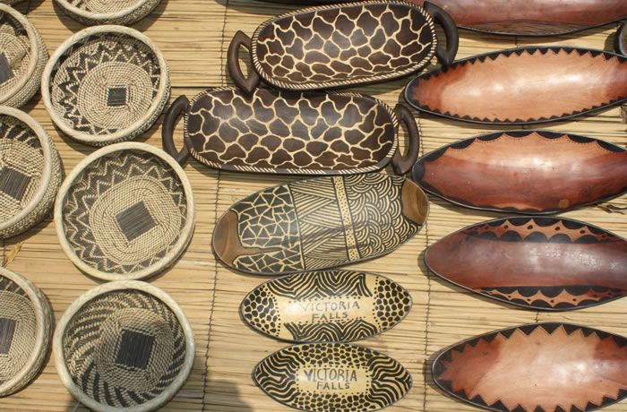 Kabwata Cultural Village Zambian Craft Market With Handmade Gifts