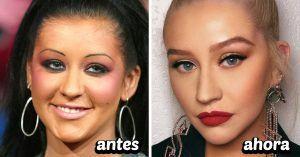 15 Celebridades que cambiaron por completo su rostro gracias a sus cejas