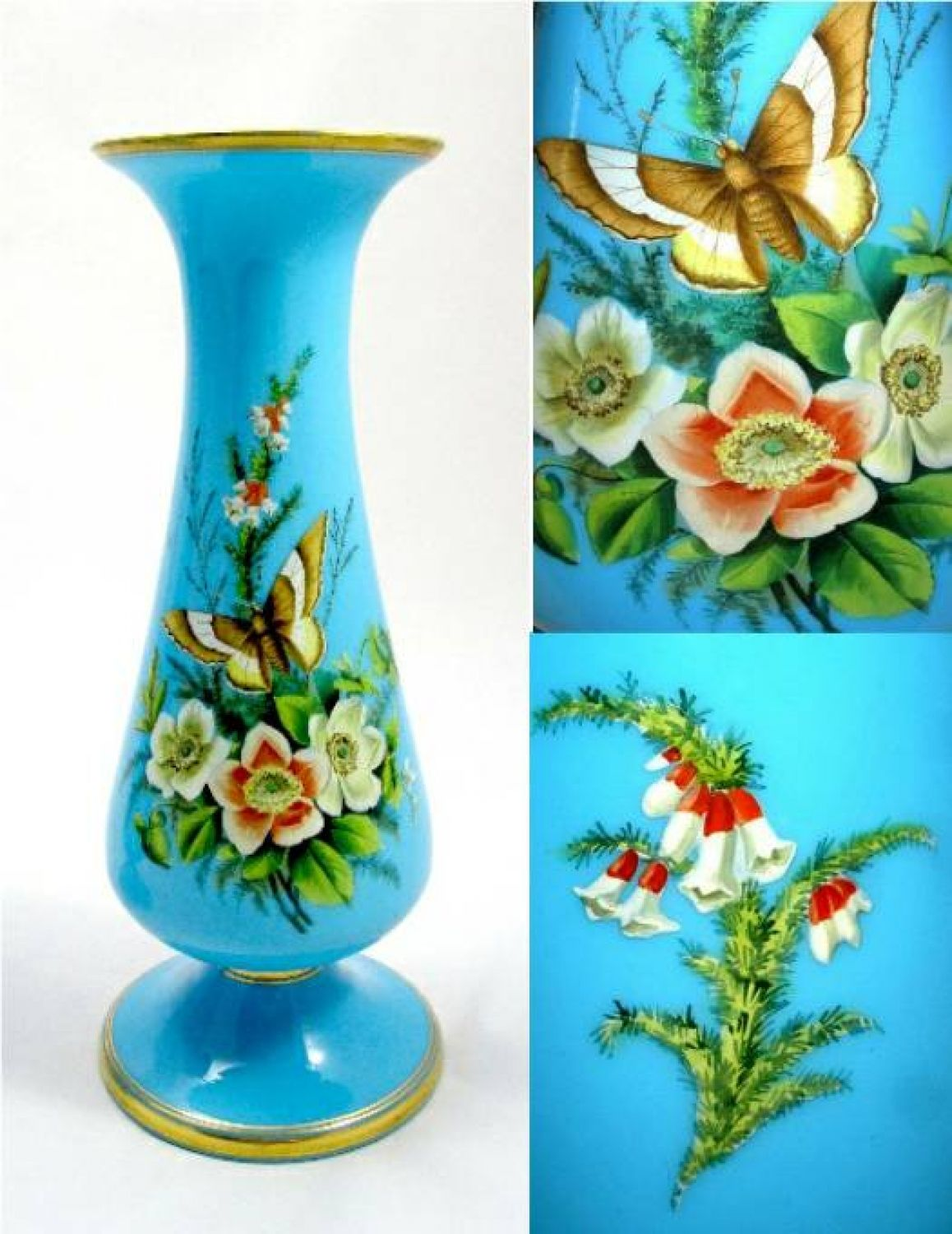 Pair of antique french opaline flower vases picture 2 watch pair of antique french opaline flower vases picture 2 reviewsmspy