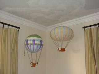 Ballom Air lamp - Baby room