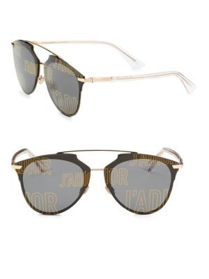 4c3785bcaff8d DIOR REFLECTED PRISM 63MM MIRRORED MODIFIED PANTOS SUNGLASSES.  dior ...