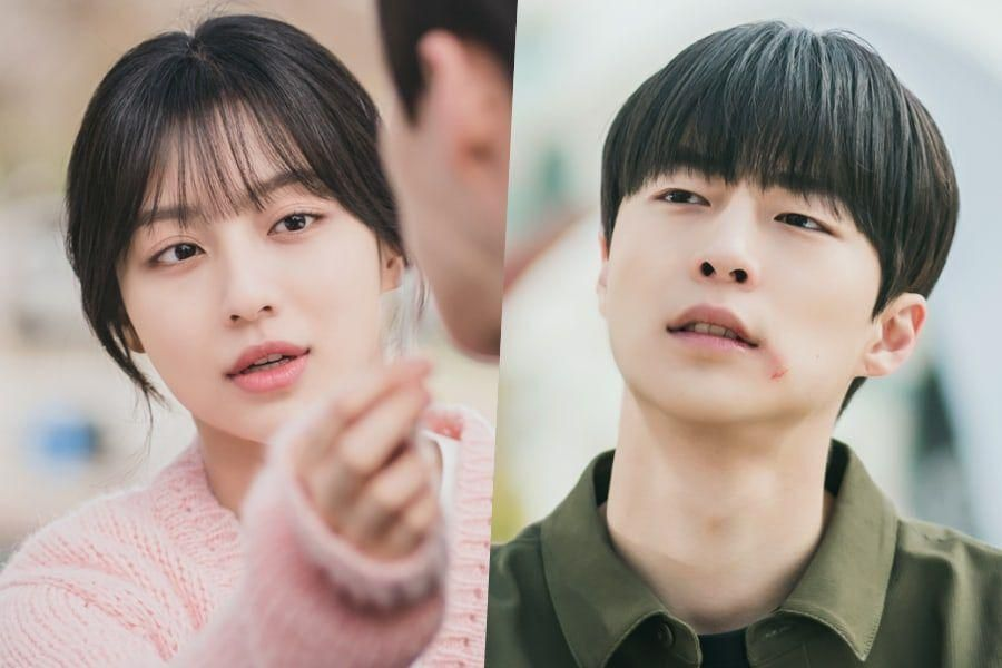"""Kang Min Ah And Bae In Hyuk Struggle Through College Life Together In """"At A Distance Spring Is Green"""""""