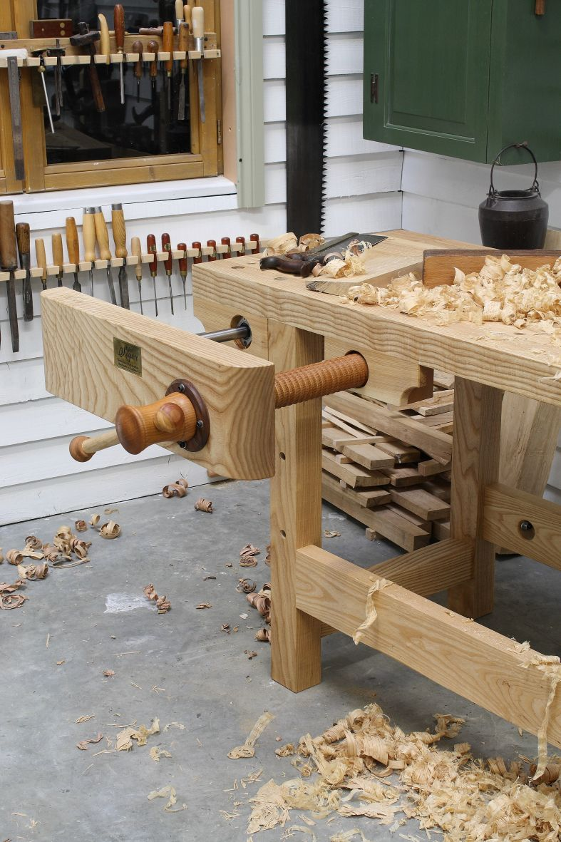 The English Woodworker, Maguire Face Vice