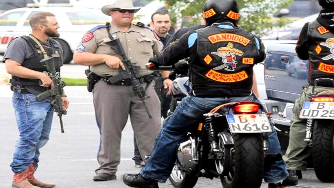 BANDIDOS vs  COSSACKS : Texas BIKER SHOOTOUT, 9 dead! - YouTube