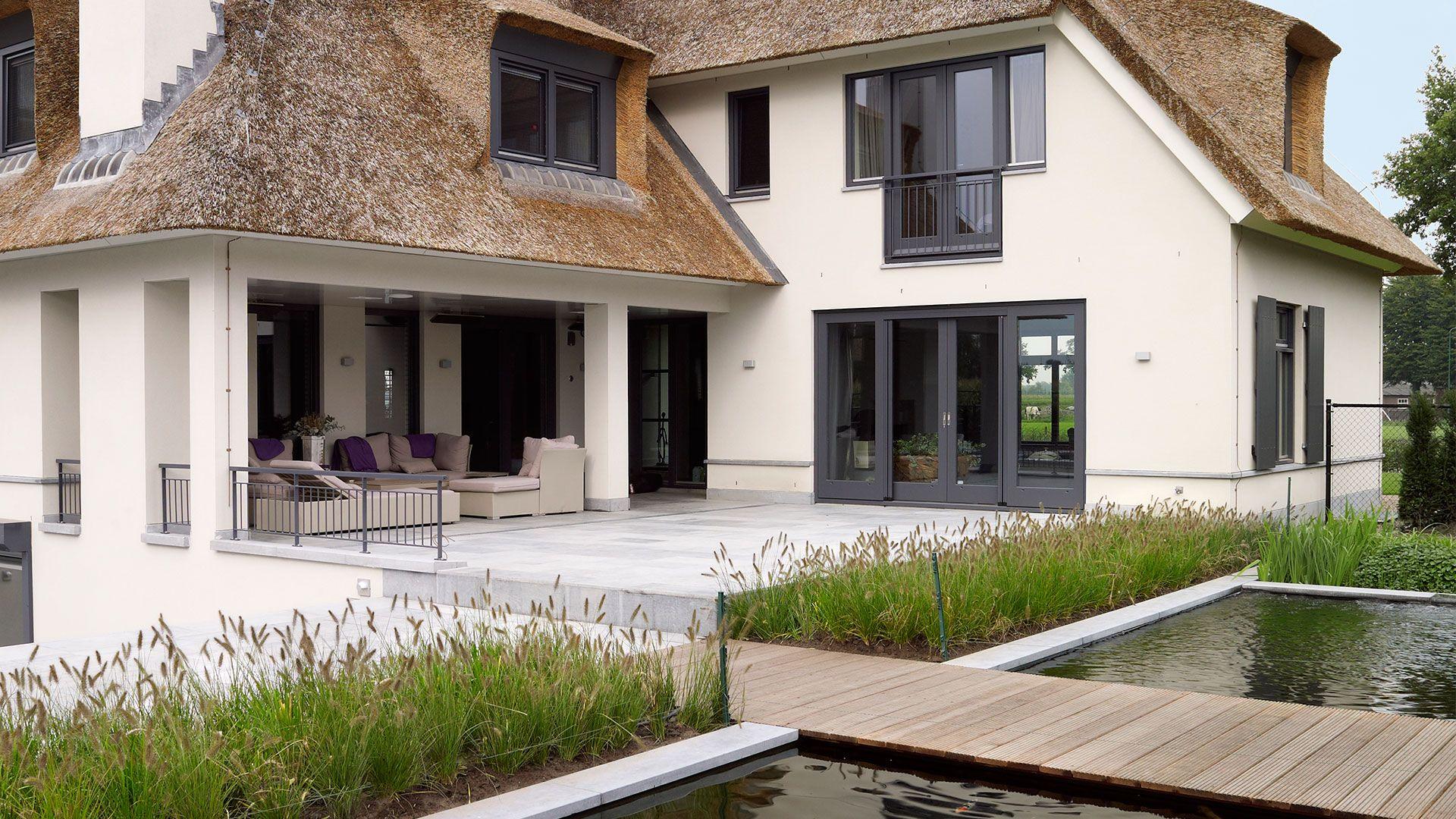 Nieuwbouw villa brabant google zoeken landelijk wonen pinterest nieuwbouw modern for Afbeelding van moderne huizen