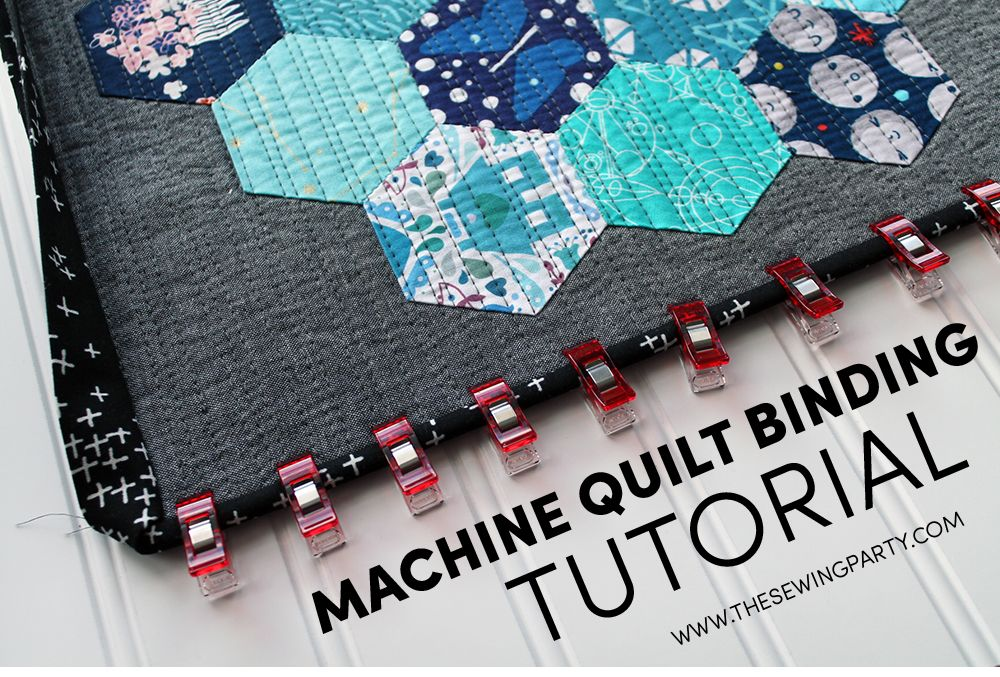 Red pepper quilts: binding tutorial great instructions for machine.