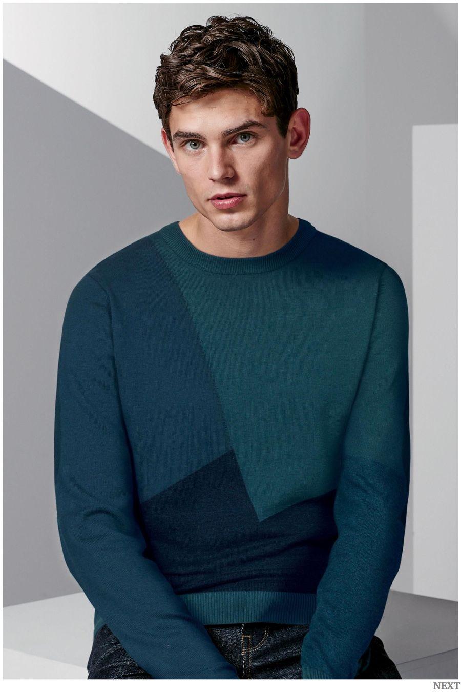 b2a240f31f1f Graphic Focus: Next Knitwear + Trendy Sweatshirts | Men's | Graphic ...