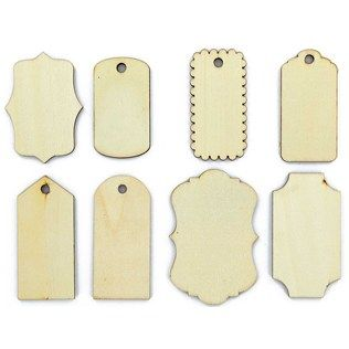 Lara's Crafts Tags Wood Shapes | Shop Hobby Lobby