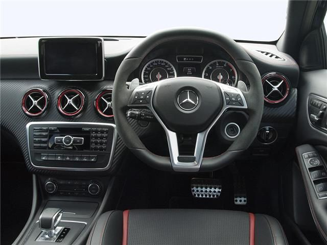 Mercedes Benz A Class Amg Hatchback Interior View Dream Car