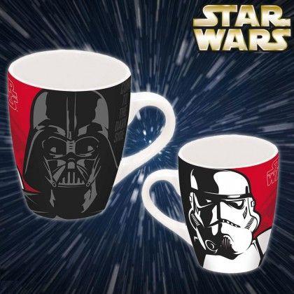 Sur Star Wars Dark Cadeaux À Stormtrooper Mug L'effigie Vador Et De 4AjLR53