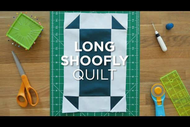 Quilt Snips Mini Tutorial- Long Shoofly