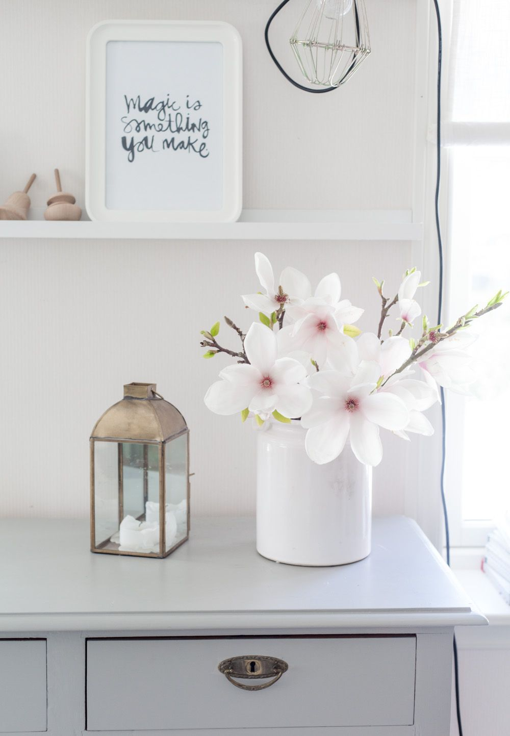 #Soft #Furnishings creative ideas for your home - white vase... http://www.myrenovationstore.com