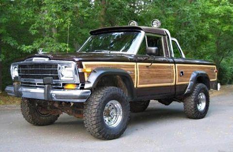 Grand J10 Jeep Truck Jeep Wagoneer Trucks