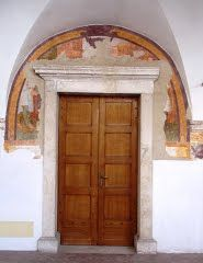 Pordenone - Frescoes riaffioranti of the old convent of S.  Francesco
