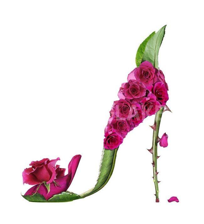 ceb933f43b0a23 Michel Tcherevkoff: quand les chaussures sont des fleurs en 2019 ...