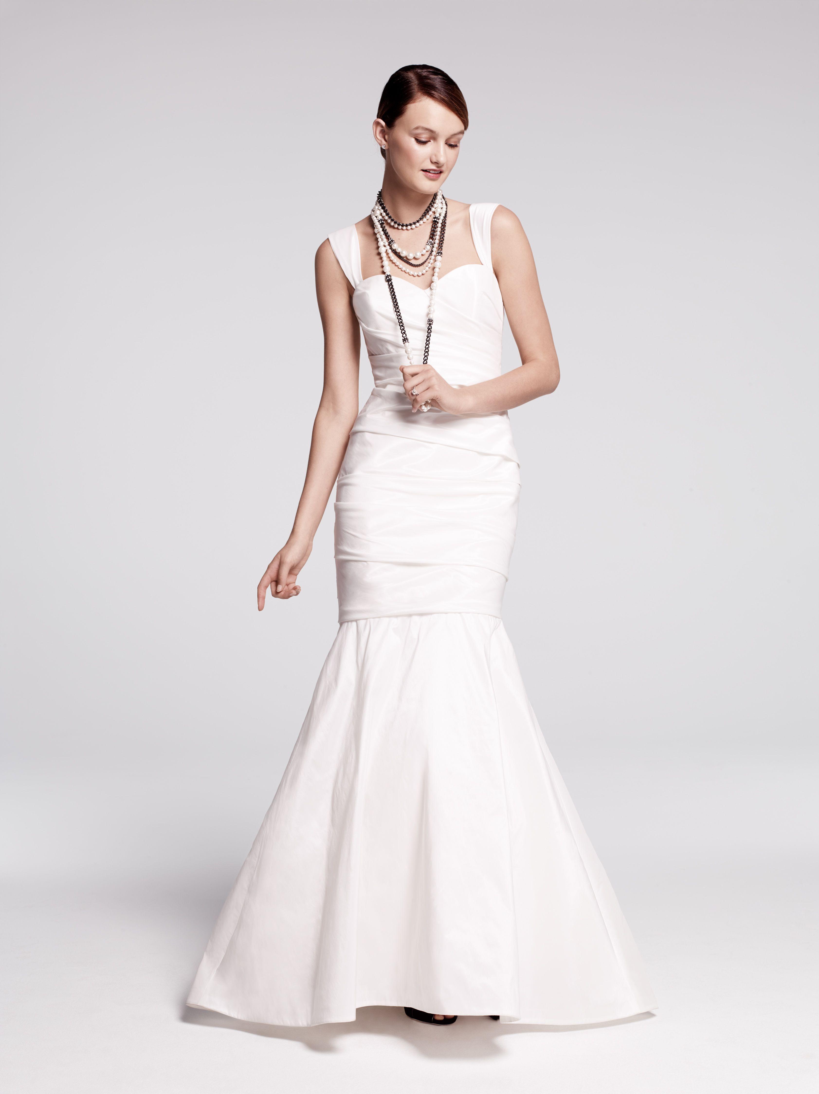 Nordstrom wedding dress  Nouvelle Amsale taffeta mermaid gown exclusive to Nordstrom Wedding