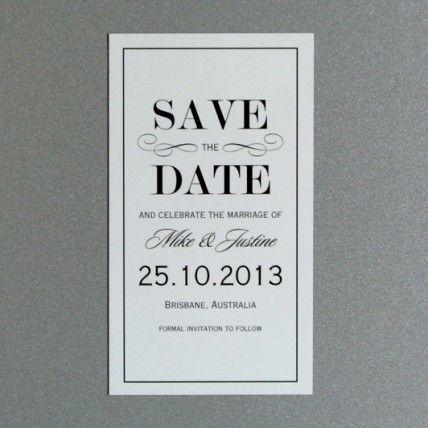 Vintage Elegance Invite