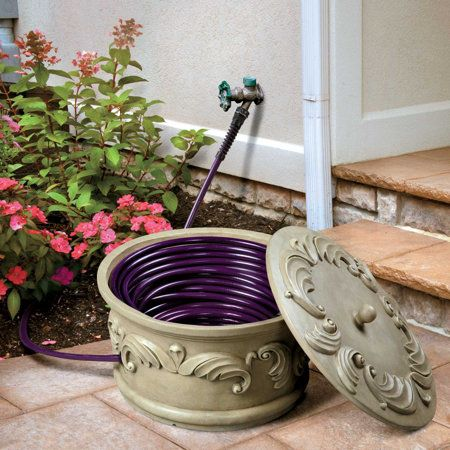 Feathered Scroll Hose Bowl Gardening Garden