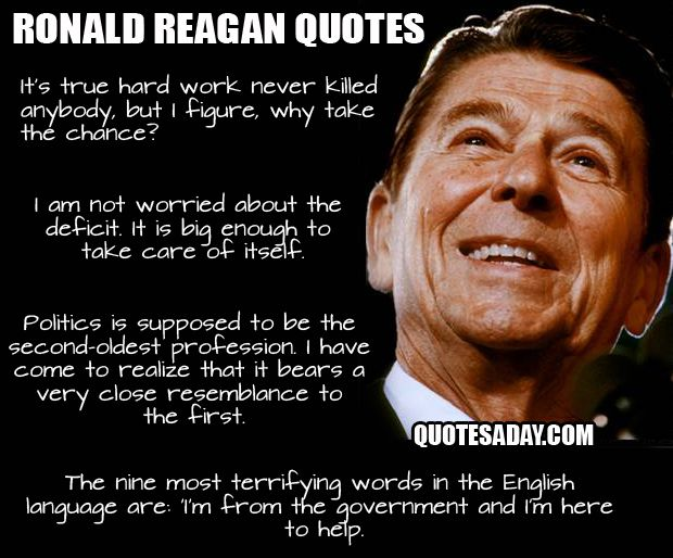 Ronald Reagan Quotes Simple Ronald Reagan Quotes And Images  Bing Images  Government  Pinterest
