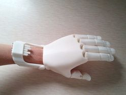 Prosthetic Hand Plans by 3D Print Designers