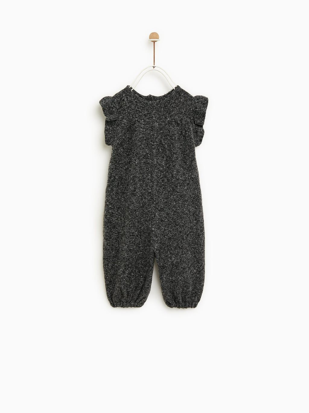 8d9c9619574 Image 1 of RUFFLED DUNGAREES from Zara Frill Shirt, Ruffle Jumpsuit, Boy  Toddler Bedroom