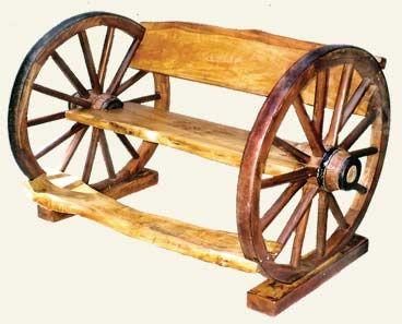 garden seat on wheels. Wagon Wheel Bench Garden Seat On Wheels R