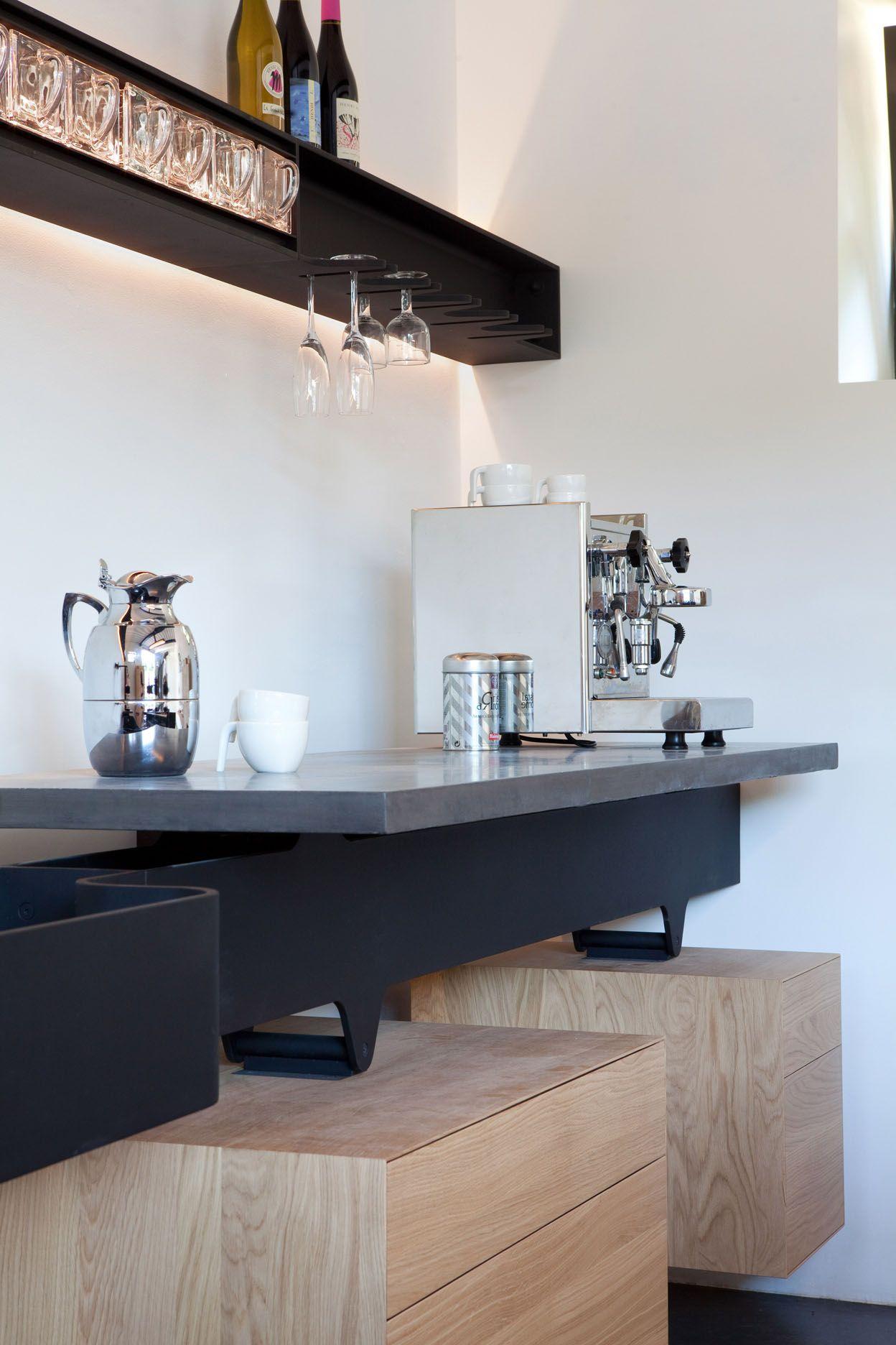 eventueel idee voor plank in keuken met verlichting boven aanrecht ...