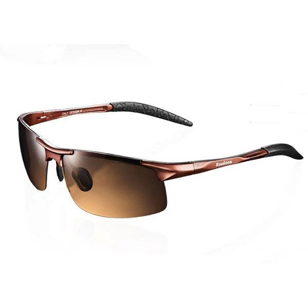 48d493f2147 Reedoon Resin Polarized Frame Sunglasses UVA Driving Fishing Outdoor Glasses