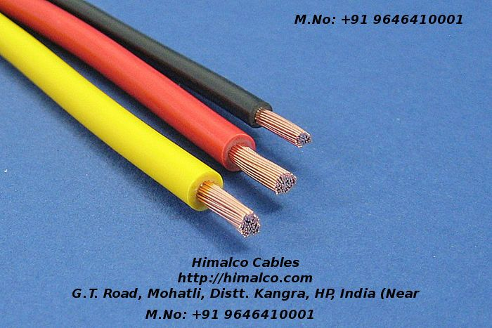 himalco cables provides the most quality and safe building wires which can  be used for both