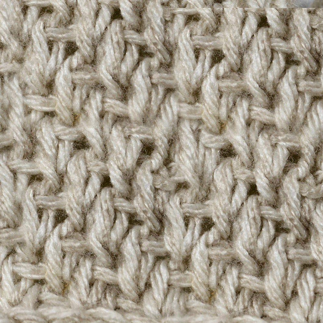 My Tunisian Crochet: Tunisian Knit / Bar Stitch | good ideas ...