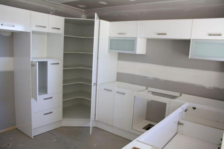 Kitchen Corner Pantry Cabinet   Eichler - Kitchen Ideas   Pinterest