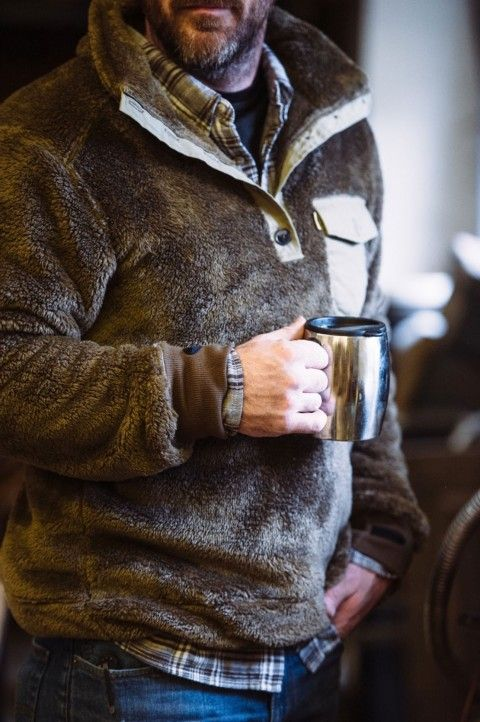 Kodiak Fleece Pullover Birchwood in 2019 | Mens outdoor