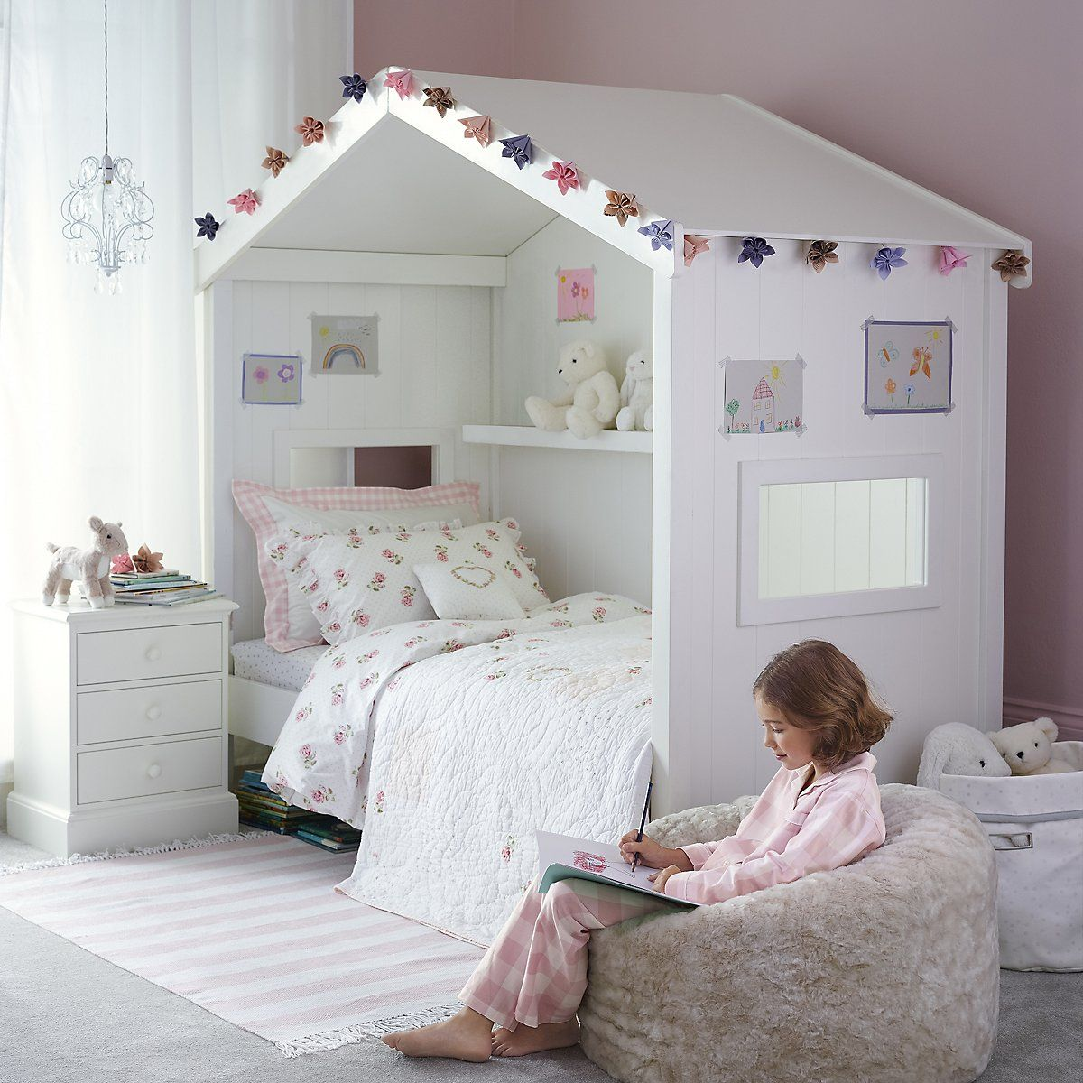 Classic Little White Day Bed Beds Furniture Home The White Company Uk Kids Bedroom Decor Childrens Bedrooms Girls Bedroom