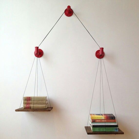 The Balance Bookshelf by Cush Design Studio. SonderMill.com.