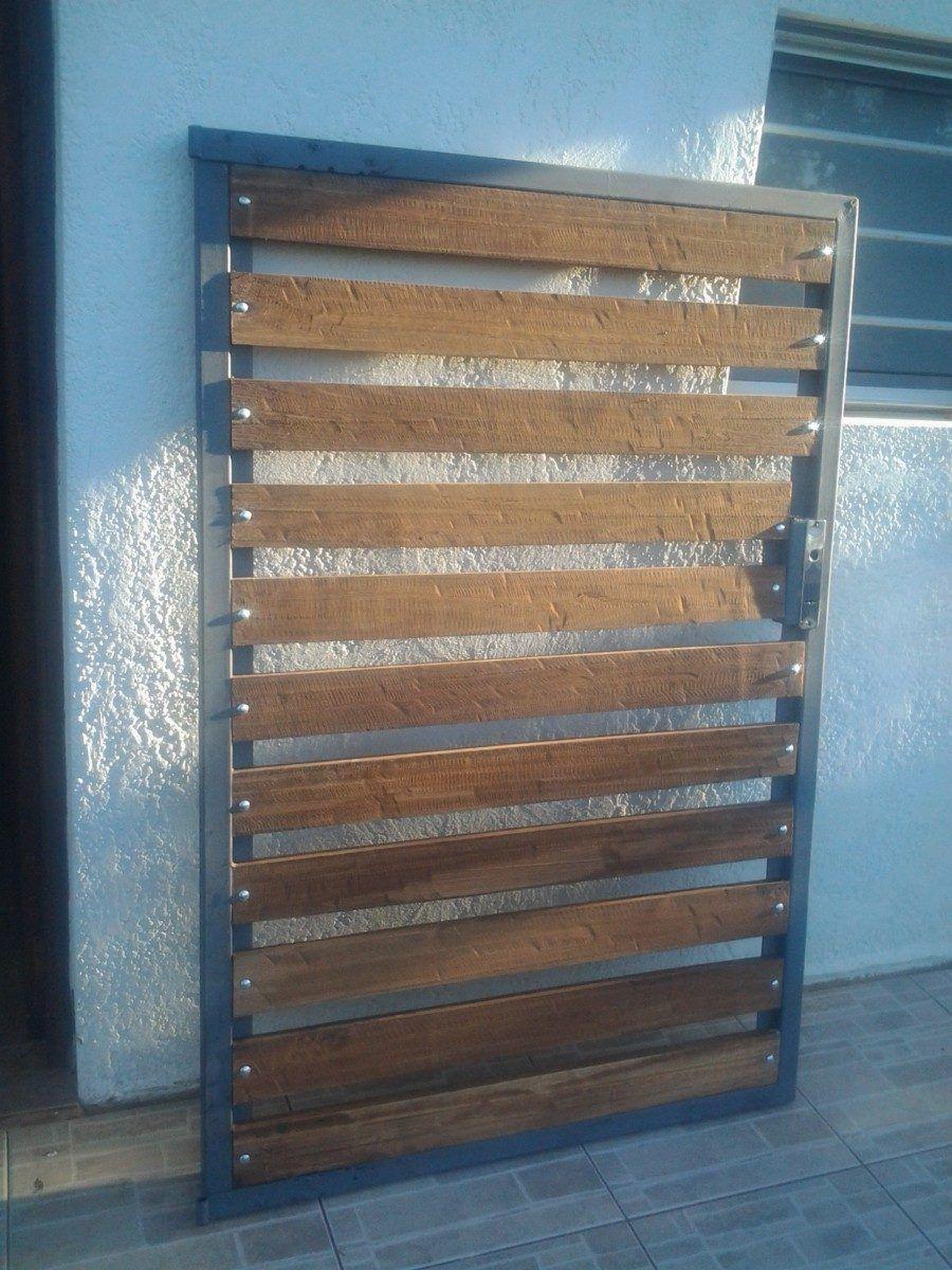 Resultado de imagem para portones de madera house gate for Puertas y portones de madera