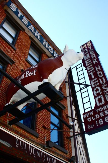 The Old Homestead Steakhouse Iconic Nyc Steakhouse Nyc Restaurants Ny Restaurants Steakhouse