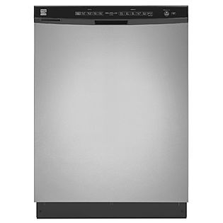 Kenmore 24 Built In Dishwasher W Turbozone Stainless Steel