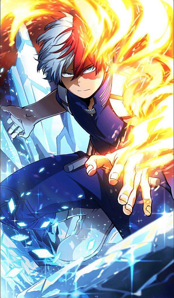 Todoroki Shoto My Hero Academia 598 X 1024 Music Indieartist Chicago Hero Wallpaper Hero My Hero Academia Episodes