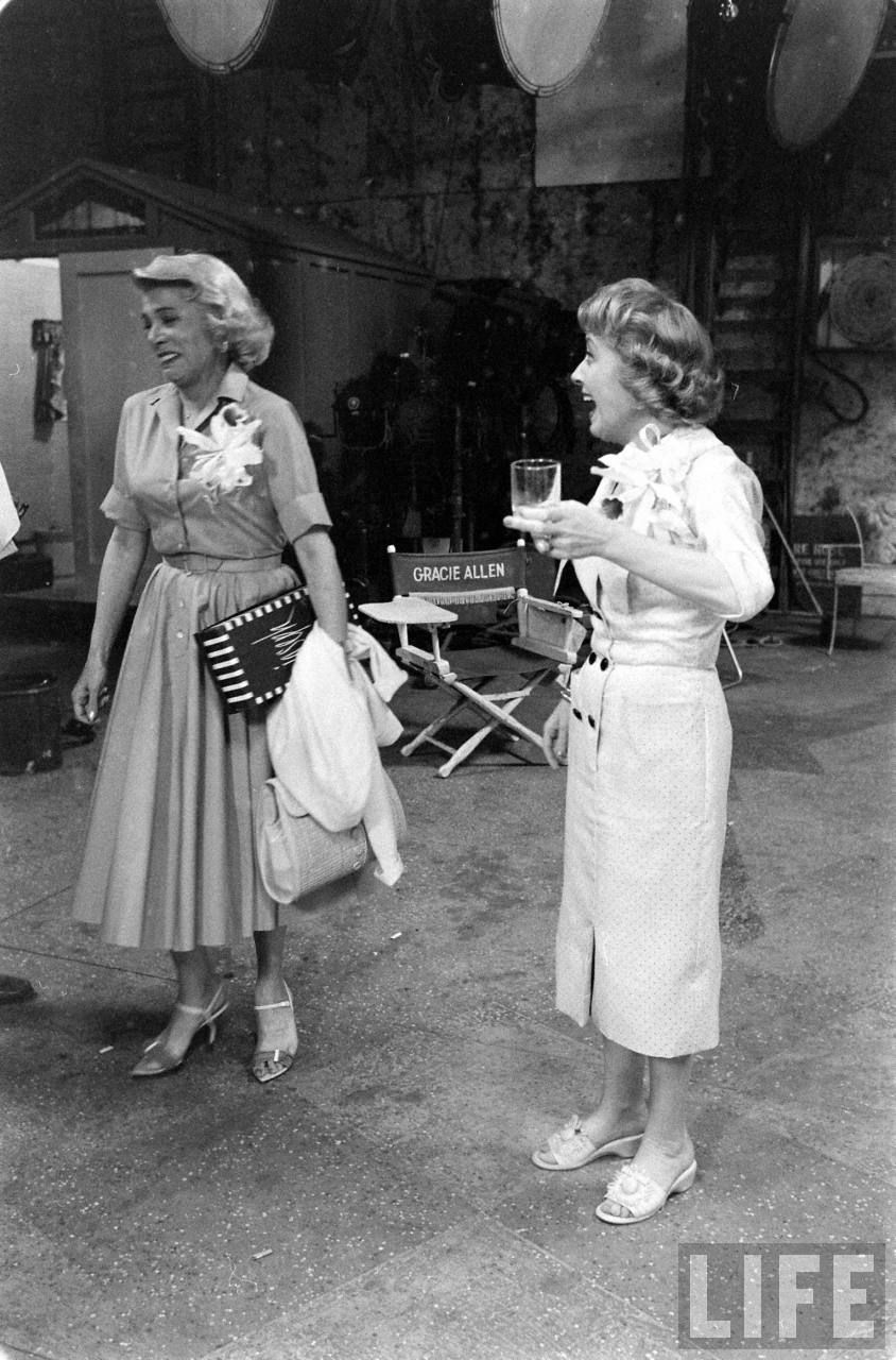 gracie allen and bea benaderet on the last day of burns and gracie allen and bea benaderet on the last day of burns and allen
