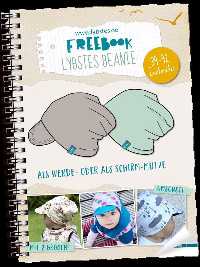Baby Wendebeanie - Kostenloses Schnittmuster - Freebook