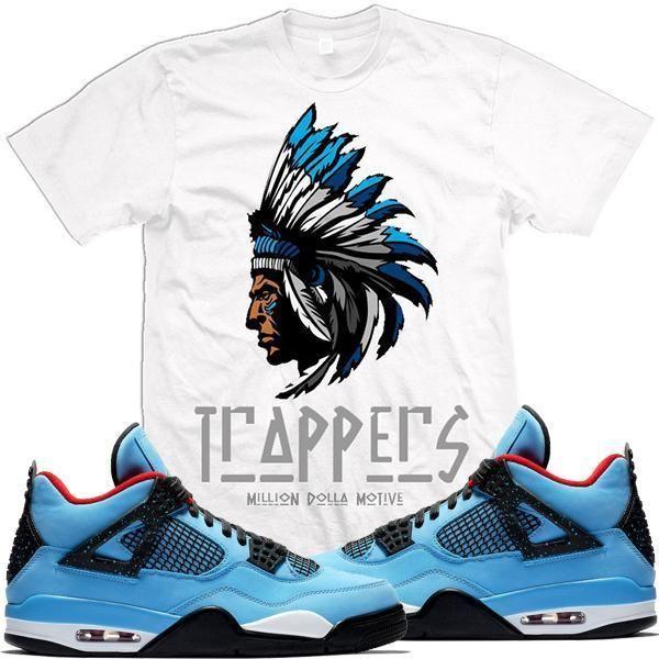 8914b738205bcd Jordan 4s Cactus Jack Sneaker Tees Shirt - TRAPPERS in 2019 ...