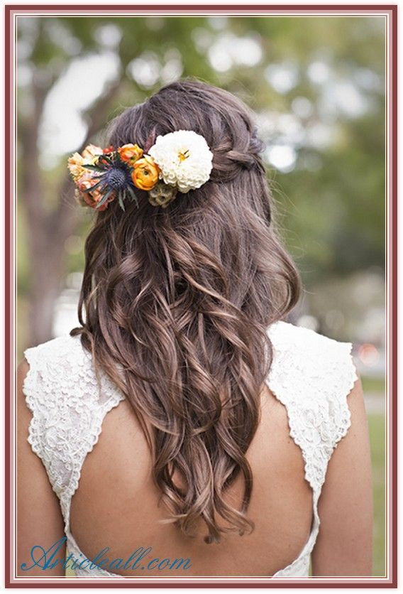 Fantastic New Trends Garden Wedding Hairstyles For Guests Idea More De Long Hair Wedding Styles Wedding Hairstyles For Long Hair Braided Hairstyles For Wedding