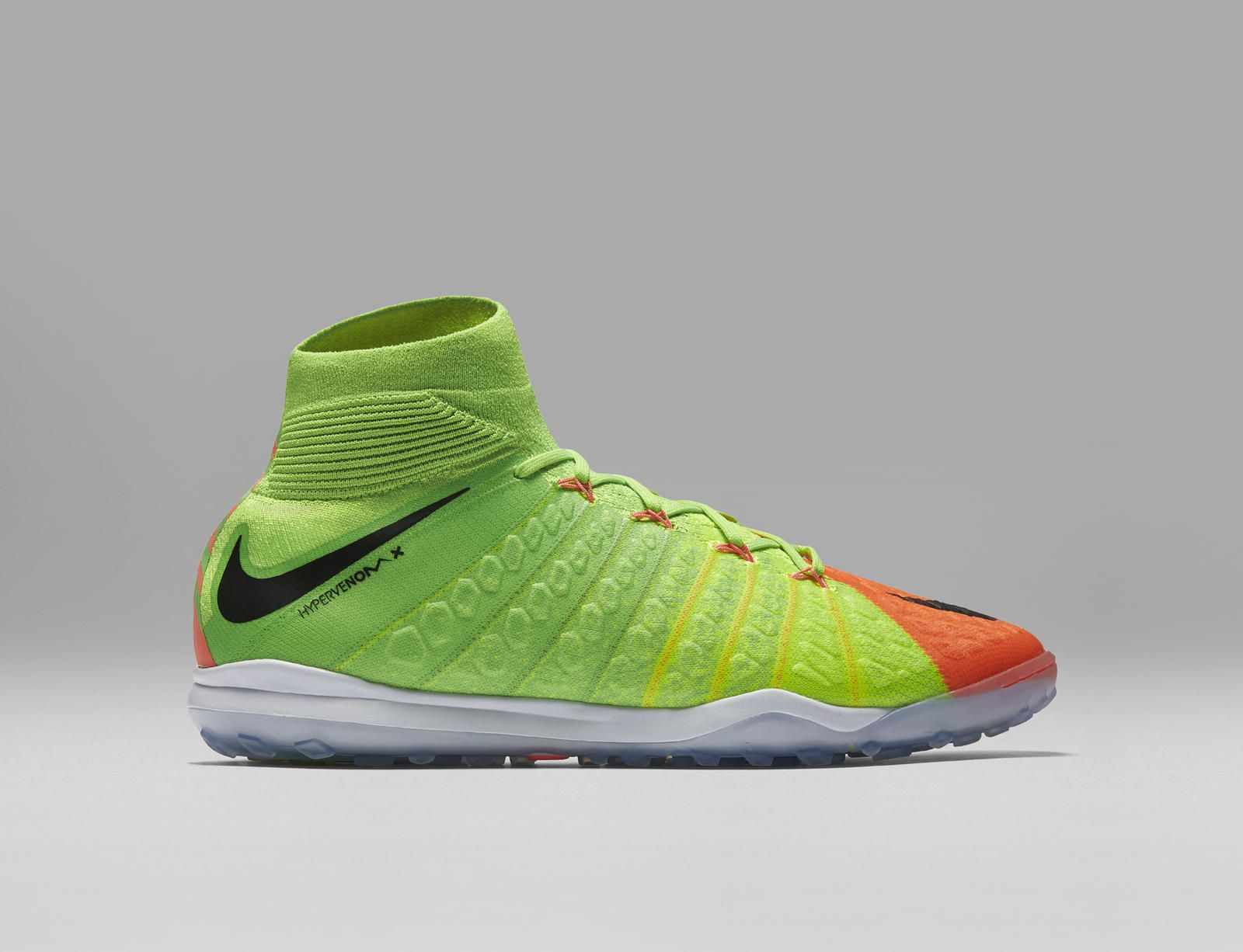 new arrival 57471 ac6b7 From sketch to scoring machine, Nike unveils the new Hypervenom 3. The boot  will be available January 30 on Nike.com in the Poison Green Hyper Orange  ...