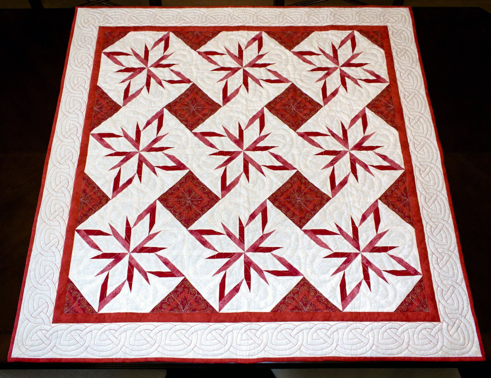 Red and White Star Quilt | Quilt Artistry StudioQuilt Artistry ... : red and white quilts - Adamdwight.com