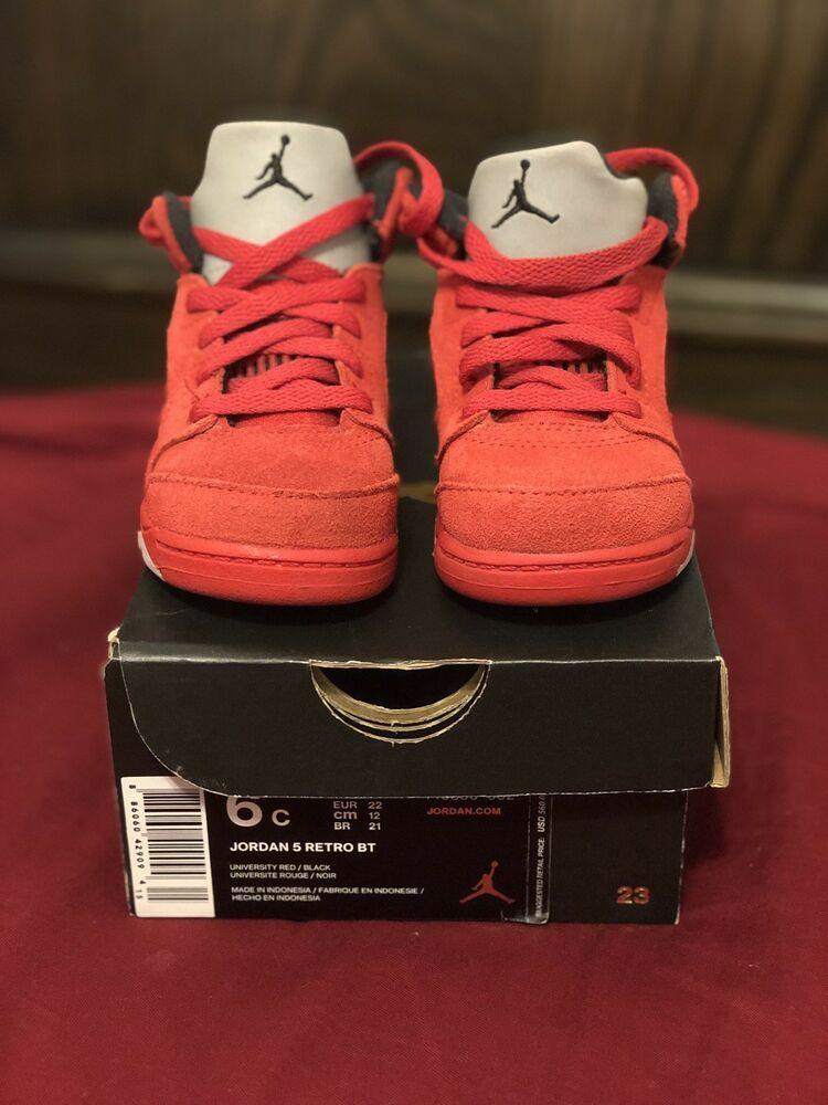 Air Jordans Retro 5 Baby Size 6c