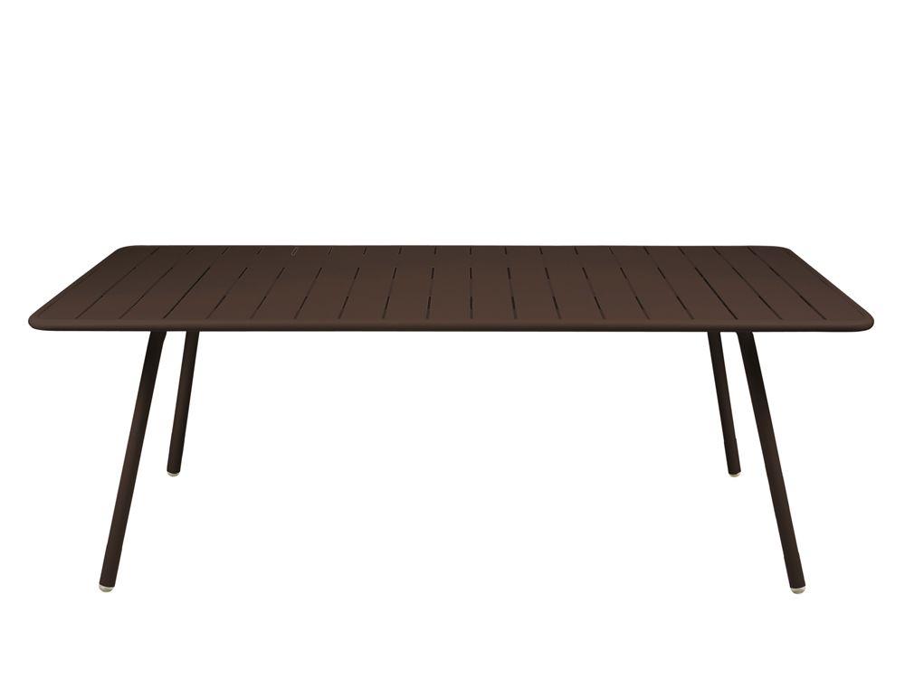 Table 207x100 cm Luxembourg, table de jardin, table jardin 8 ...